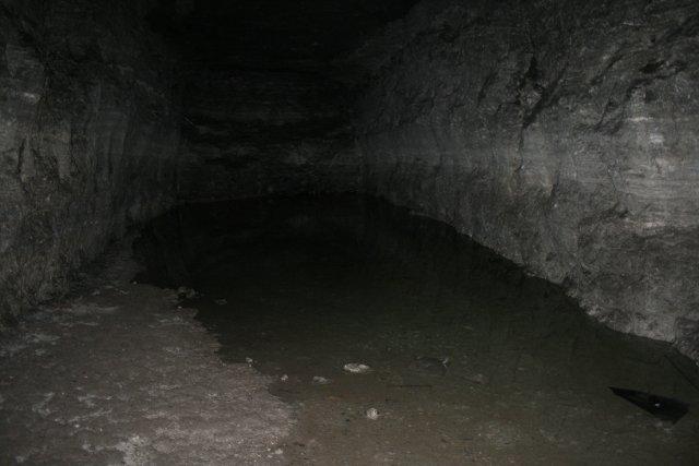 Озеро в штольне под ВДНХ