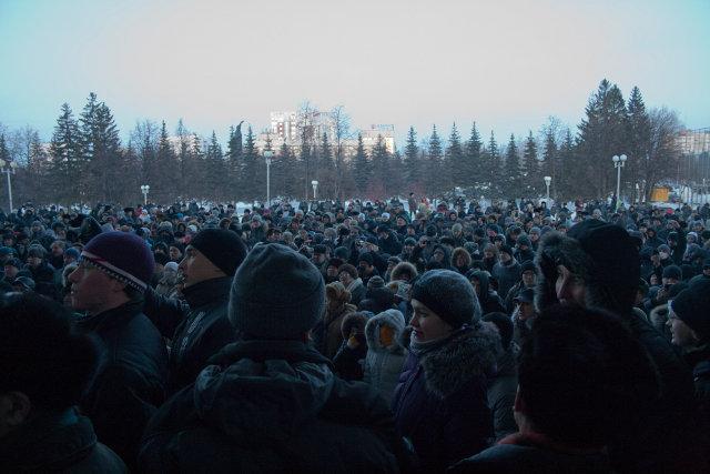 Митинг 10 декабря Уфа