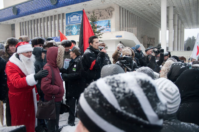 митинг в Уфе