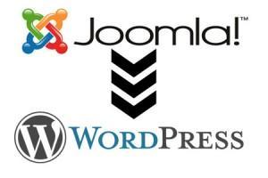 joomla to wordpress