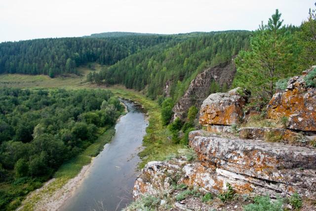Марьин утес на Южном Урале