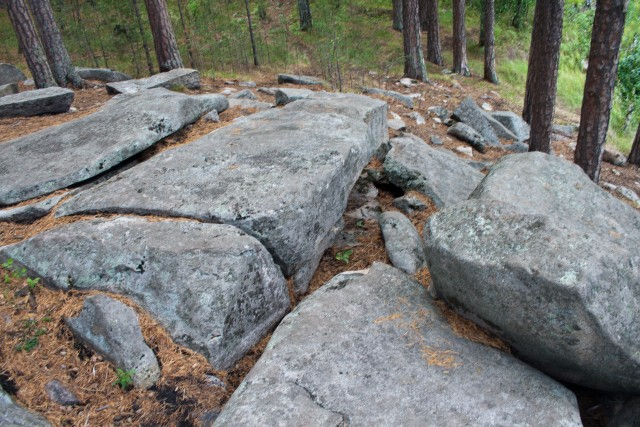 Каменоломня остров Веры