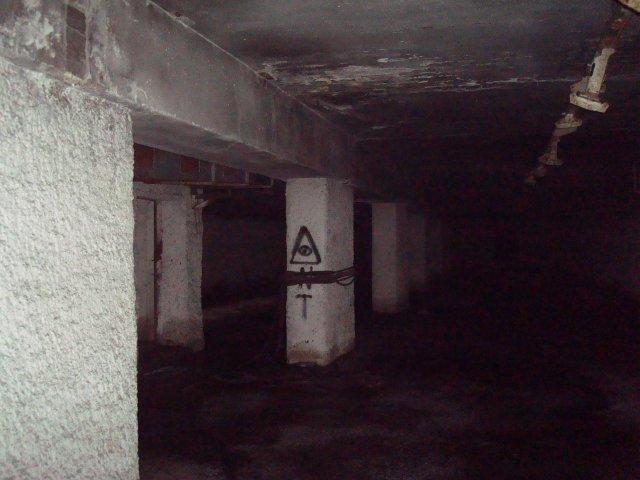 Заброшенное бомбоубежище