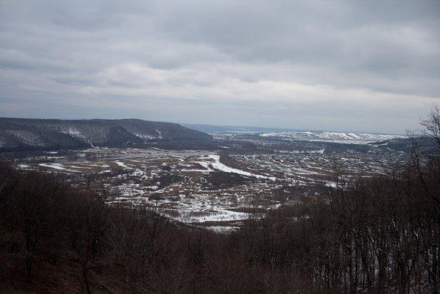 Вид с горы Янгантау