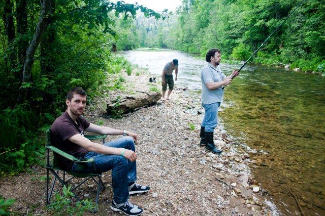 Стоянка река Аша