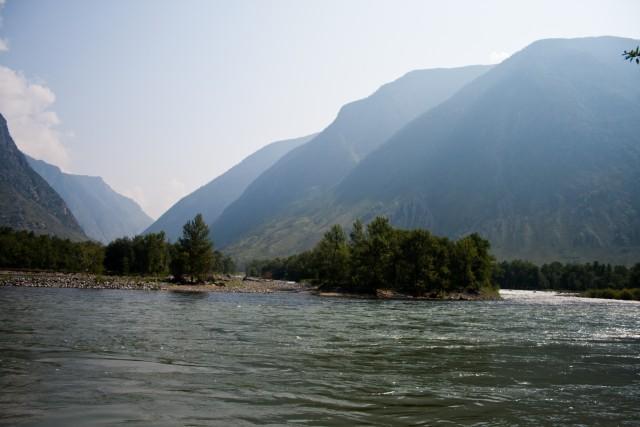 Устье реки Чульча