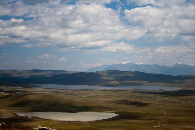 Озера Как-Холь, Кара-Холь, Ак-Холь