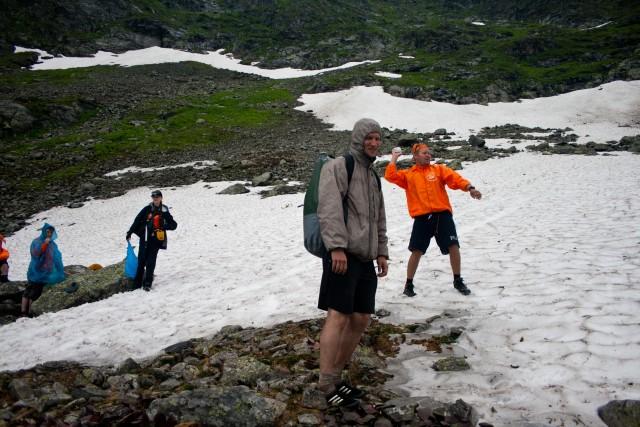 Снег гора Этель
