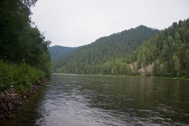 Река Абакан