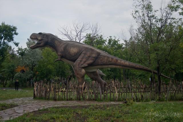 Тираннозавр Динопарк