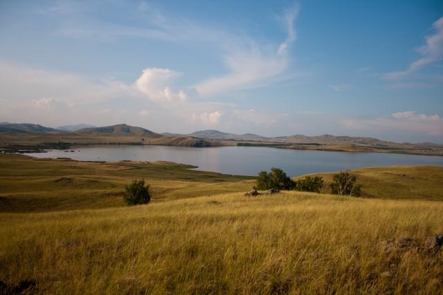 Озеро Карабалыкты