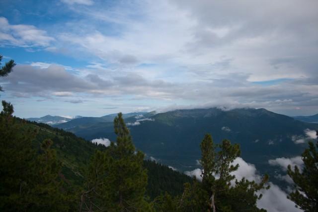 Вид с горы Этель