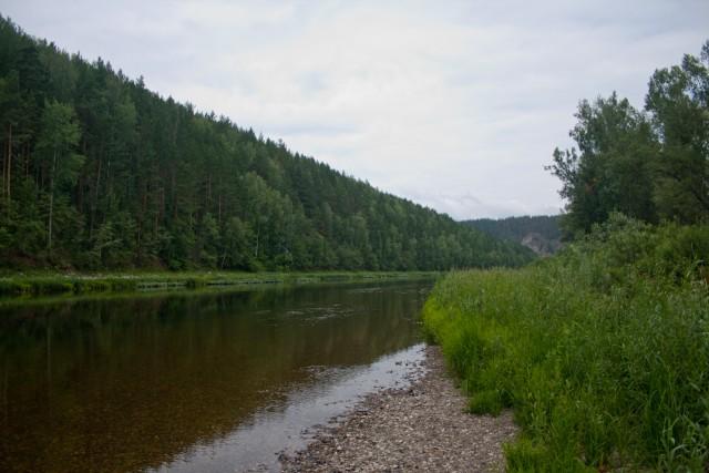 Река Белая Нижний Авзян