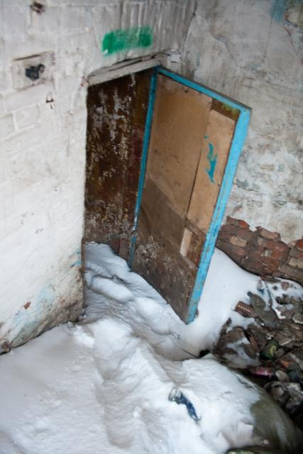 Заброшенная баня