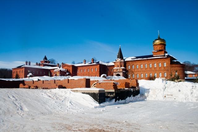 Успенский Свято-Георгиевский мужской монастырь «Святые кустики»
