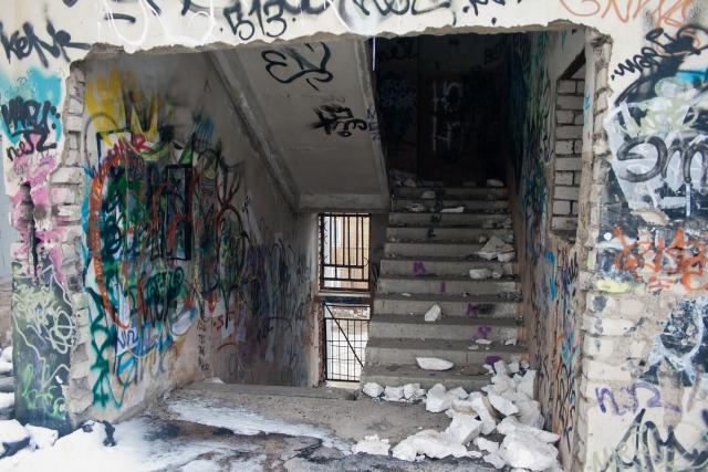 Заброшенный спортзал