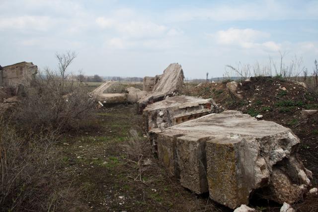 Заброшенные бараки