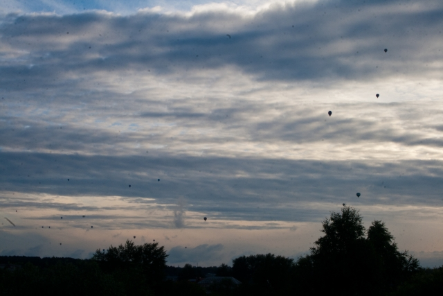 Шоу воздушных шаров Кунгур