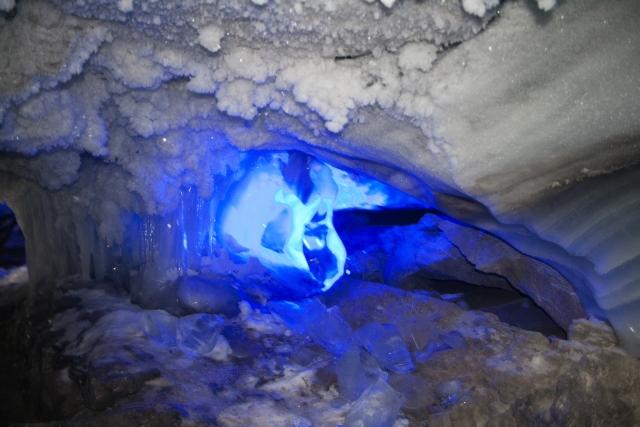 Кунгурская ледяная пещера Бриллиантовый грот