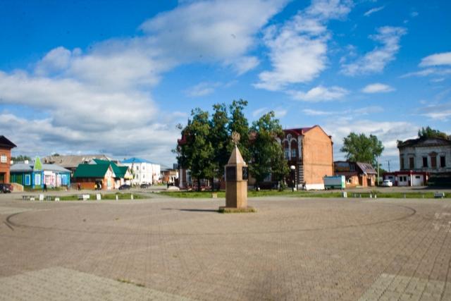 Городская площадь Верхотурье