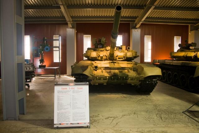 Музее бронетанковой техники Т-90С