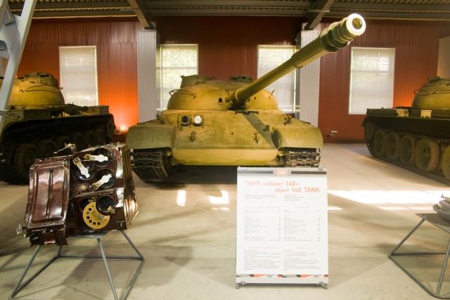 Музее бронетанковой техники Объект 140