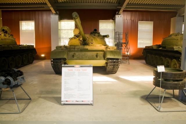 Музее бронетанковой техники Т-55А