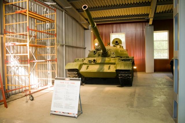 Музее бронетанковой техники Т-62