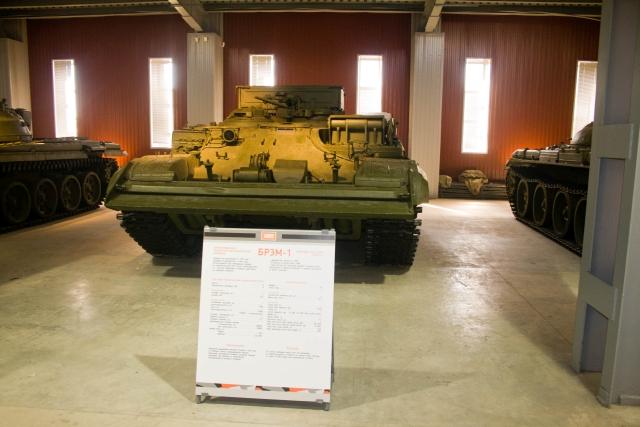 Музее бронетанковой техники БРЭМ-1 Объект 608