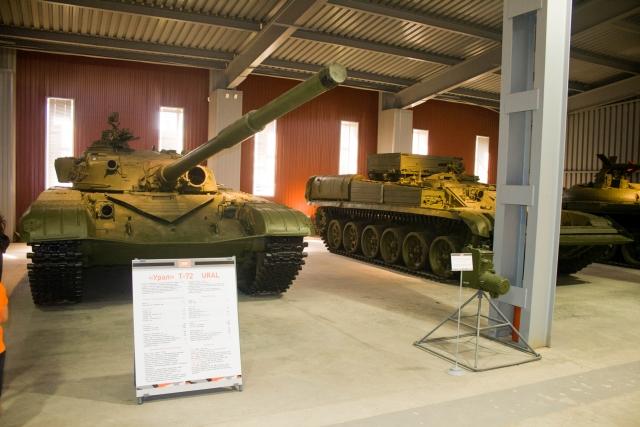Музее бронетанковой техники Т-72 Урал