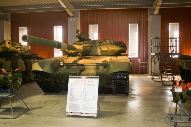 Музее бронетанковой техники Т-72Б