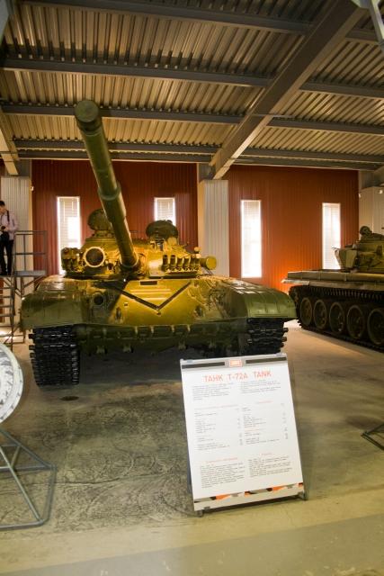Музее бронетанковой техники Т-72А