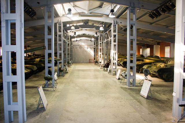 Музее бронетанковой техники