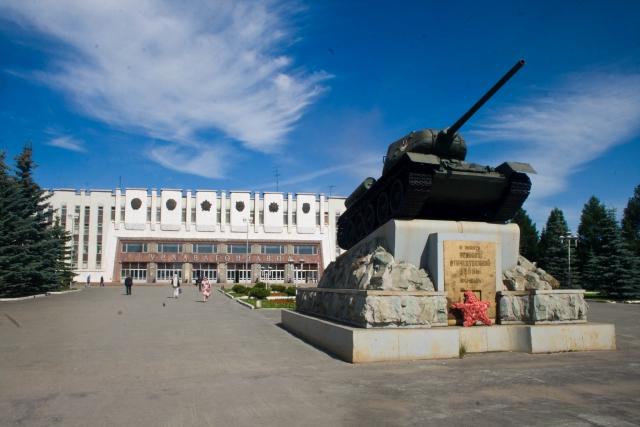 Нижний Тагил Т-34