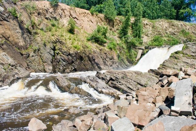 Висимо-Уткинский водопад