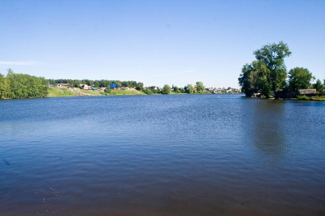 Невьянский пруд