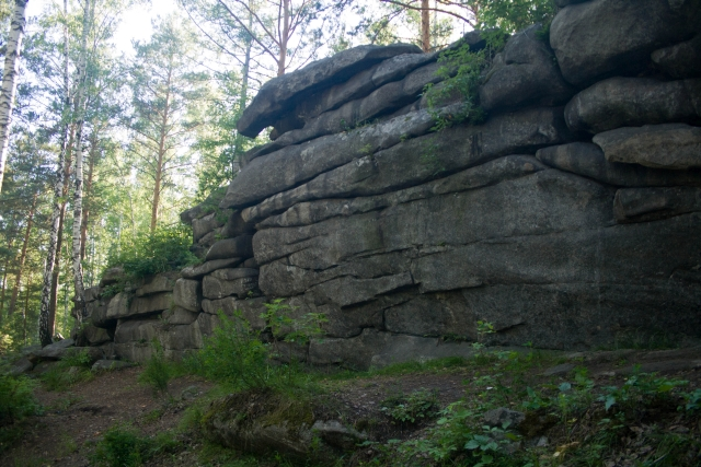Палкинские каменные палатки