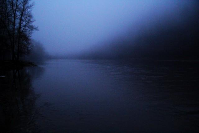 Туман на реке Белая