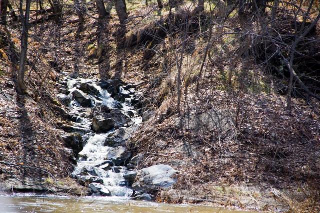 Ручей река Белая
