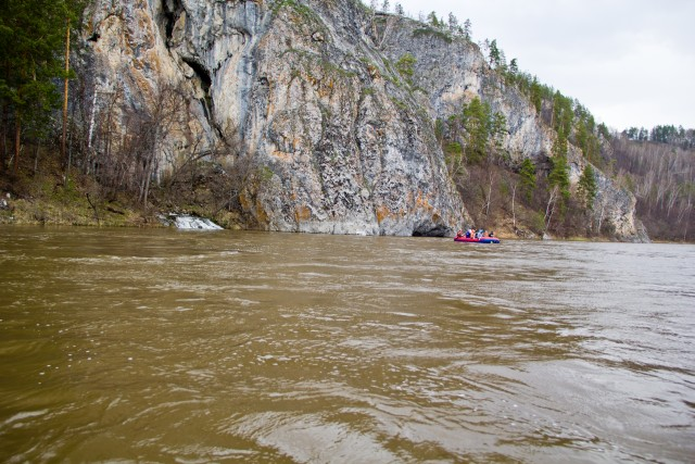 Сплав по реке Белая