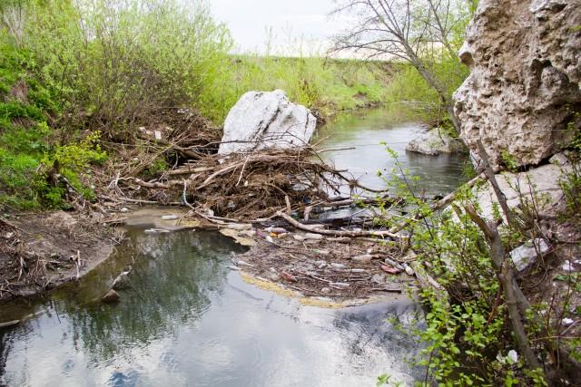 Река Аургазы в Бабай таш