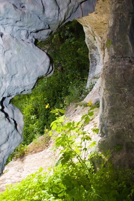 Грот на реке Зилим