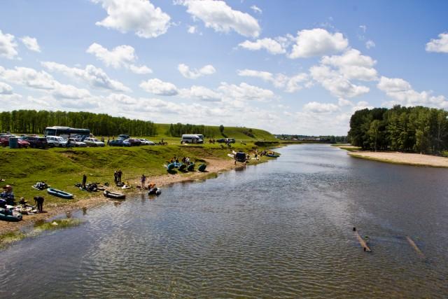 После сплава по реке Зилим
