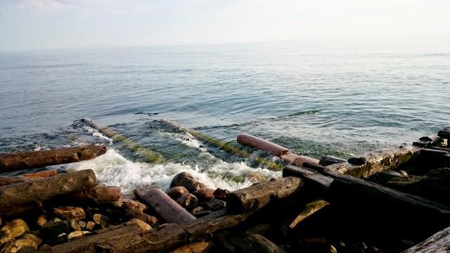 Пристань ледокола Байкал