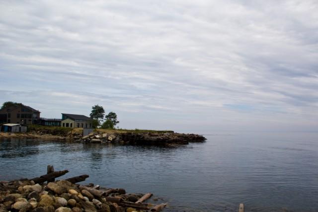 Пристань ледокола Байкала