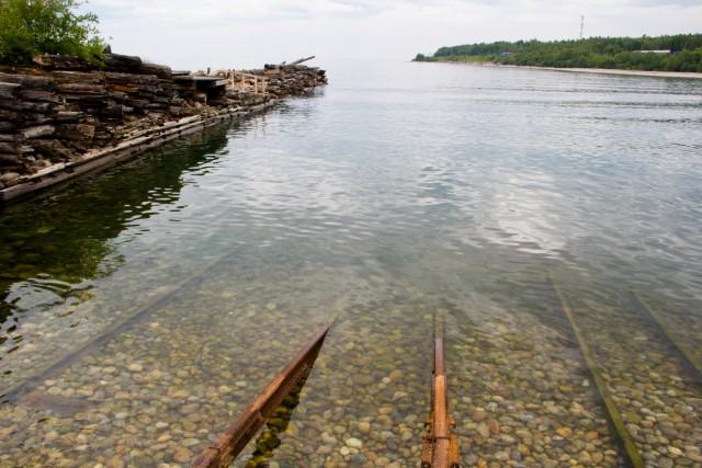 Пристань ледокола Ангара