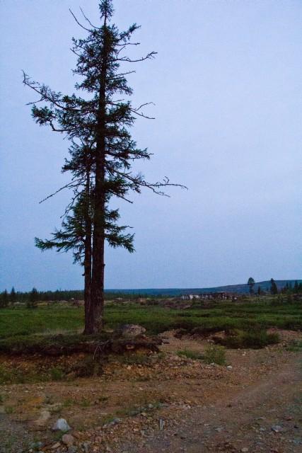 Якутия заброшенный поселок