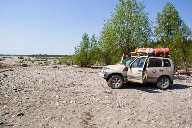 На берегу Хагдыги