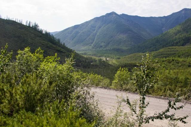 Трасса Колыма Томпорукский перевал