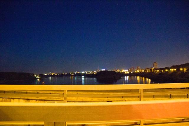 Трасса Сибирь мост через Томь